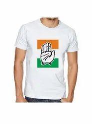 Congress Election T-Shirt Congress Logo Printed T Shirt