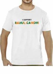 Congress Election Campaign Promotion T-Shirt 120 Gsm