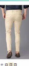Men Plain 4 Way Lycra Trousers