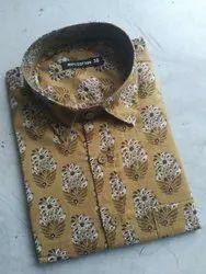 Casual Wear Printed Men''s Fashion Shirts
