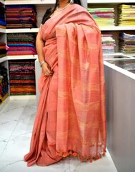local manufacturer 6 5 Handloom Saree, With Blouse Piece