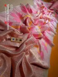Prativa collection's 6.3 m (with blouse piece) Muslin Madhabilata Jamdani