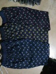 Thigh Length Blue Mens Fancy Printed Cotton Bermuda Shorts, Size: XL-XXXL