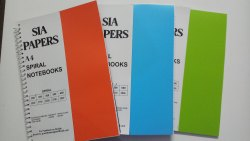 Pack Of 10pc. Neon Colour 480 Page A4 Spiral Notebooks Pack Of 10pc.