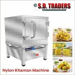 Semi-Automatic Stainless Steel Leenova Steam Dhokla and Idli Machine