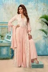 Salsa 2 color options available Ladies Designer Palazzo Suit, For Party Wear