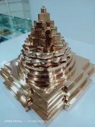 Maha Meru Shree Yantra Copper Made
