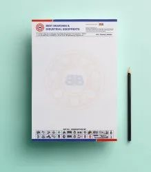 Letterheads Stationery Graphic Designing Service