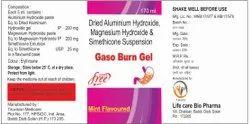 Gaso Burn Gel Suspension Antacid