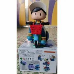 Plastic Stunt Tricycle, For Personal, Packaging Type: Box