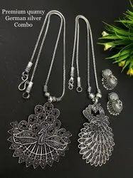 Contemporary Silver Oxidised Jewellery