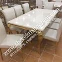 Banquet Stainless Steel Marble Table
