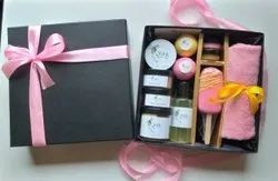 Pink and golden Rakhi,wedding Rakhi soap gift hampers, For Gifting