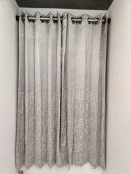 Stripped Curtain
