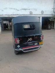 Piaggio Ape City CNG Auto Rickshaw Hood Fitment Testing