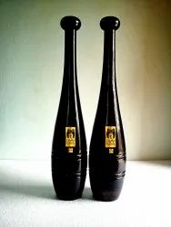 Indian Clubs 5lb Pair Walnut Classic Style