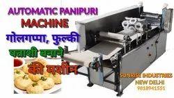Automatic Pani Poori Tray System