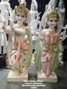 Marble Moorti Radha Krishna