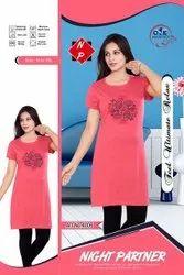 Round Daily Wear Ladies T-Shirts, 165-175, Size: l Xl 2xl 3xl 4xl 5xl