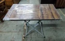 Standard Wooden Folding T Poy, Size: 18x30 And 15x24