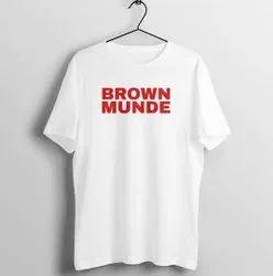 Round Neck Funky Designer T Shirt Wholesale
