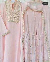 Psf Frees size Designer Sharara Suit
