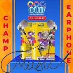 OUD OD-HF-1053 Champ Earphone With Mic