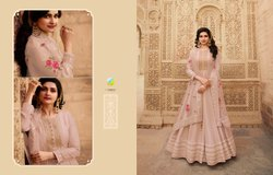 Dola Silk Jacuard Semi Stitched Vinay Parimahal Party Wear Suits