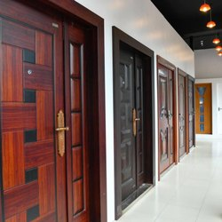 Metal Security Door Safety Doors, For Residential, Size: 900 Mm To 1500 Width