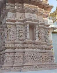 Temple Fiber Decorations