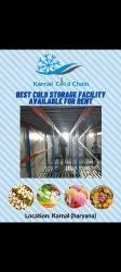 Puf Panel Fruits Rental Cold Storage Services, Automation Grade: Fully Automatic, 0 Deg To -20 Deg Celcius