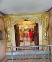 Marble Commercial Projects Golden Foil Work For Temple