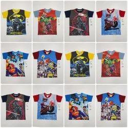 Boys Sublimation Round Neck T-shirt