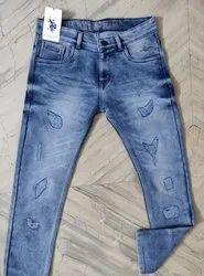 Denim Faded Us Polo Mens Jeans, Waist Size: 28-36