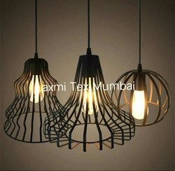 Mild Steel White,Black Decorative Hanging Lamp, Automation Grade: Semi-Automatic, Packaging Type: Box