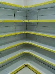 Miled Steel Supermarket Display Rack
