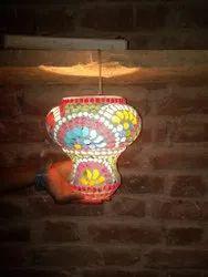 Handmade Bell Glass Lamp Multi Home, For Decoration