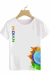 Customize Independence day T-shirt for Special Occasion 120 GSM