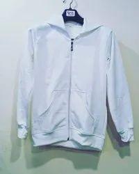 Personalize 100% Cotton Fleece Printed Zipper Hoodies