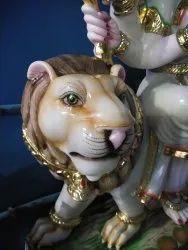 Durga Mata Marble Murti