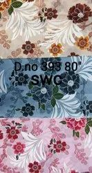 Printed Multicolor 80 Inch Roto Dyeing Mattress Fabric, 150 Gsm