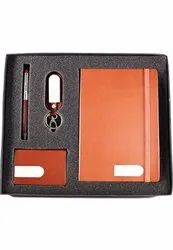 Promotional Gift Set For Corporate Pen, Key Ring, Notepad, Card Holder