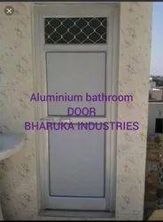Smooth Aluminium Bathroom Door, Design/Pattern: Rectangular