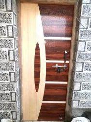 32 mm Designer Wooden Door, For Home