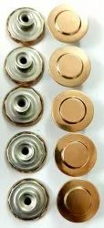 Round Brass Buttons, For Jacket