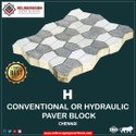 H conventional paver block