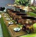 Mild Steel Brass Entiq Eating Dish