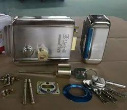 Electronics Door Lock, Finish Type: Stainless Steel