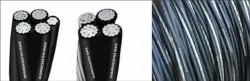 Black Lt Aerial Bunch Cable