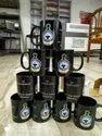 Customize Black Patch Coffee Mug